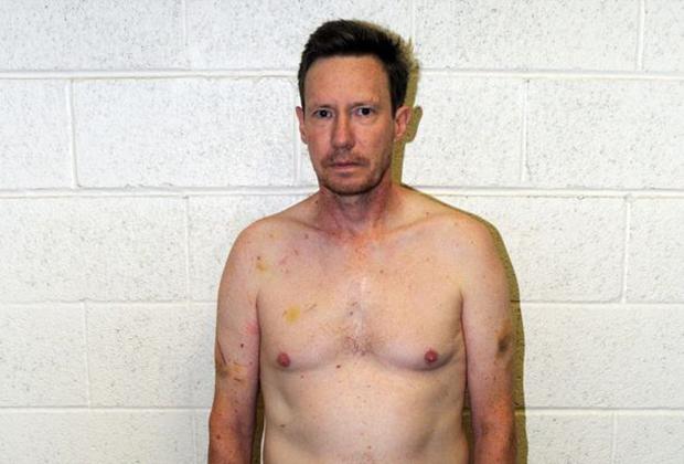 Питер Чедвик после ареста в 2012 году