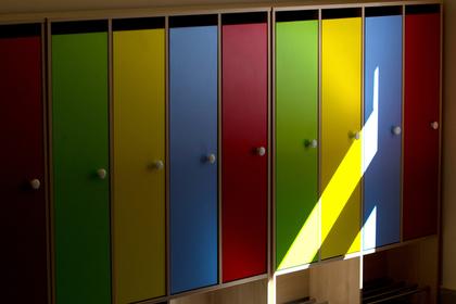 В российских школах предложили устанавливать шкафчики для вещей