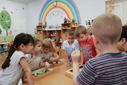 Братьям и сестрам дадут преимущество при приеме российские в детские сады