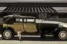 Еще один «королевский» Bugatti был продан на год раньше — 15 июня 1986 года. Все шесть построенных Type 41 оснащались гигантским рядным восьмицилиндровым мотором объемом 12,7 литра. Машины весили больше трех тонн и были самыми дорогими в свое время. Для Этторе Бугатти они стали воплощением его мечты о сверхавтомобиле, достойном королей. С конца 1980-х Royale не попадали на аукционы, но, по слухам, одна из машин была куплена концерном Volkswagen за 20 миллионов (30 миллионов в современных долларах) еще в 1999 году.