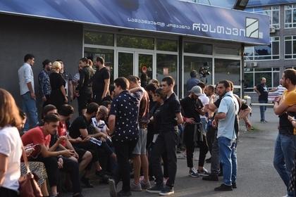 Журналисты «Рустави 2» уволились в прямом эфире