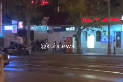 Смертельная уличная перестрелка в Краснодаре попала на видео