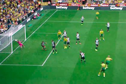 Гол в девятку ворот «Манчестер Юнайтед» признан лучшим во втором туре АПЛ