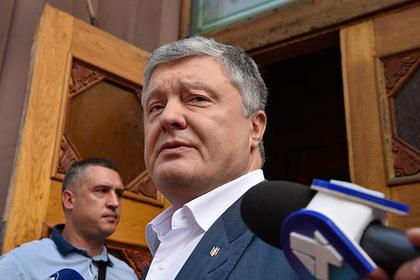 Порошенко снова покинул Украину