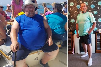 Умершая дочь заставила отца похудеть на 90 килограммов
