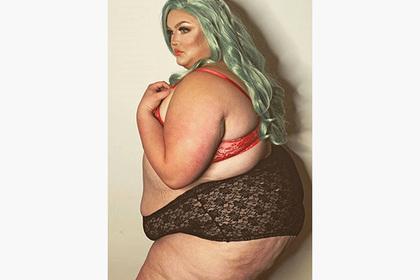Тучная студентка дала отпор ненавистникам снимками в белье
