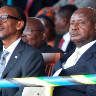 Поль Кагаме и Йовери Кагута Мусевени