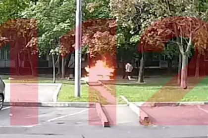 Поджегший мужчину москвич произвел впечатление невменяемого
