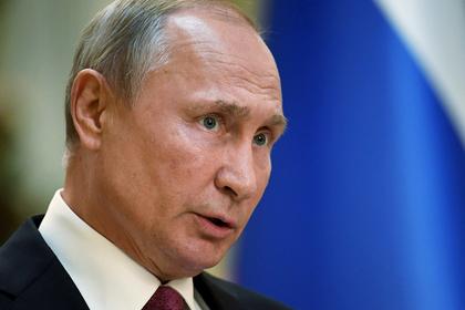 Путин заявил о разочарованности России испытанием ракет США
