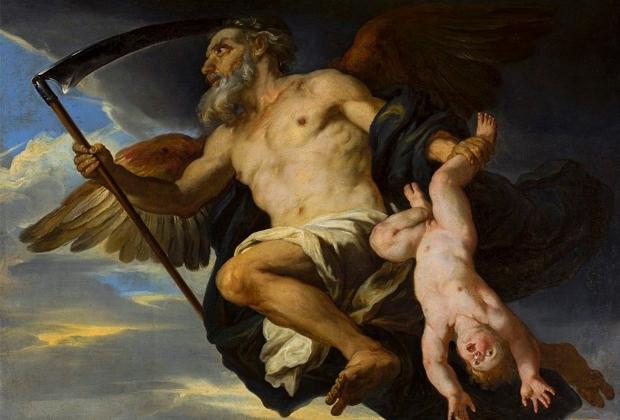 Джованни Франческо Романелли. «Хронос и его ребенок»