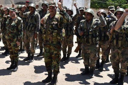 Армия Сирии заняла оплот террористов