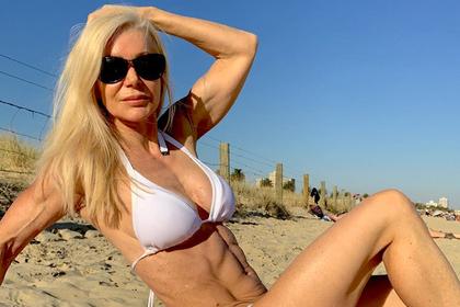 «Вечно молодая» 63-летняя бабушка раскрыла секрет своей привлекательности