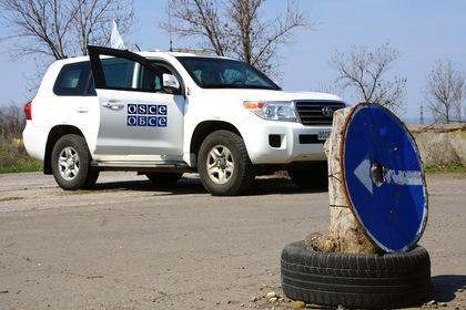 Украинцы с помощью беспилотника напугали наблюдателей ОБСЕ