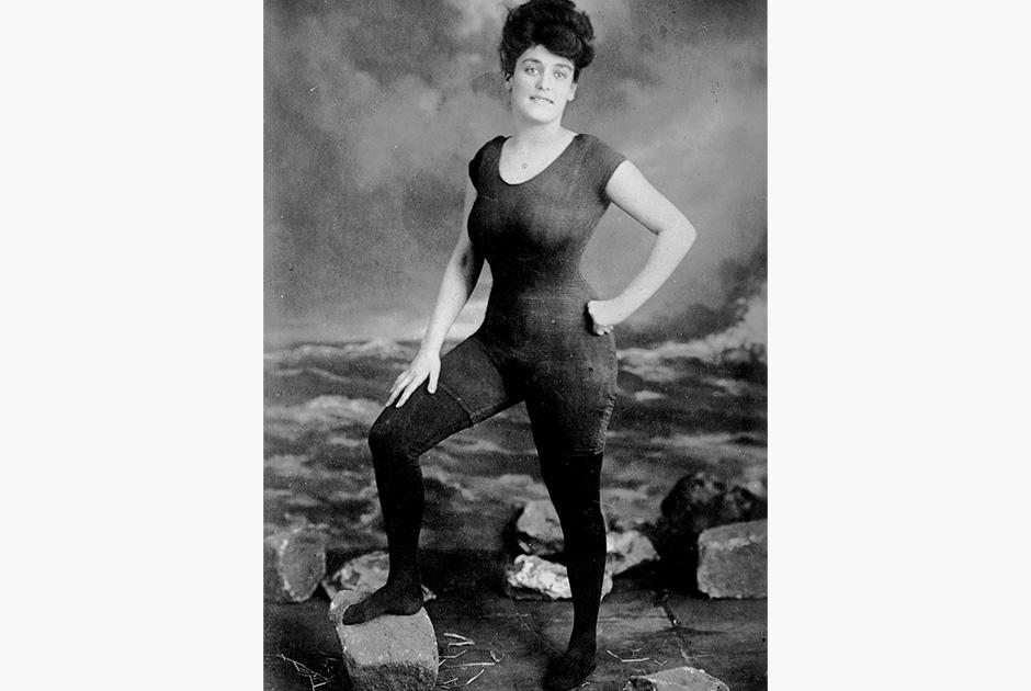 Купальный костюм Анетт Келлерман для Америки начала XX века был радикальным. Все дело в отсутствии рукавов