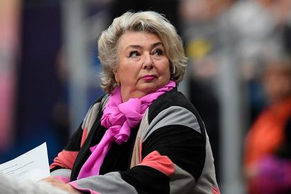 Тарасова выступила с критикой показательных номеров Медведевой