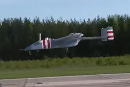 Первый полет нового российского беспилотника показали на видео