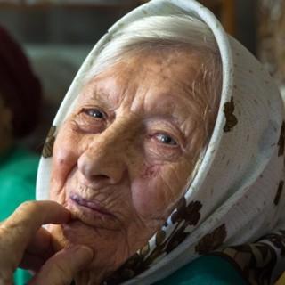 Долгожительница Агафья Дьячкова. Архивное фото