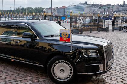 Названа цена седана из «Кортежа» Путина