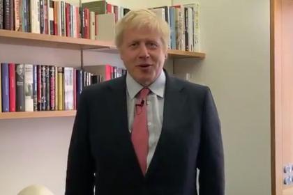 Борис Джонсон крикнул «Слава Украине!» и попал на видео
