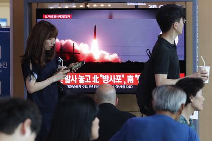 Северная Корея седьмой раз за месяц запустила ракеты в Японское море