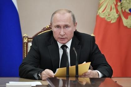 Путин поручил решить вопрос досрочного выхода шахтеров на пенсию