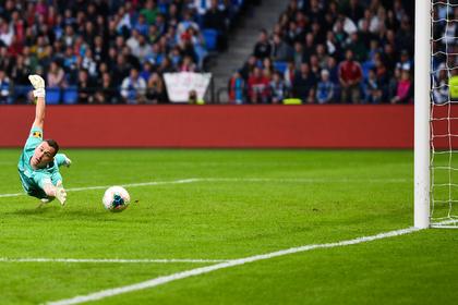 «Зенит» потерпел первое поражение в чемпионате России