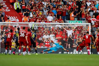 Дубль Салаха помог «Ливерпулю» победить «Арсенал» и стать лидером АПЛ