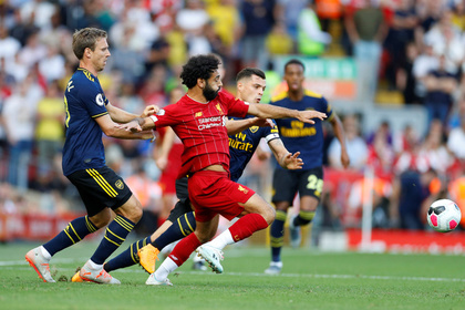 Появилось видео с лучшими моментами матча «Ливерпуль» — «Арсенал»