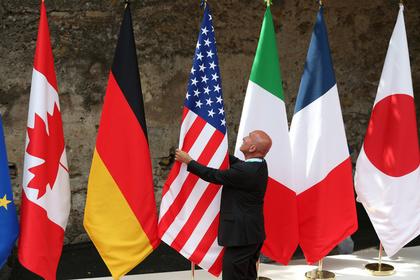 Лидеры «Большой семерки» обсудили возвращение России