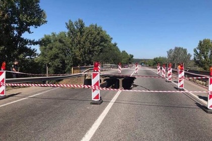 Названа причина обрушения моста в Харькове