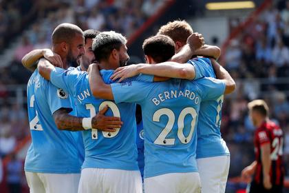 «Манчестер Сити» одержал выездную победу и вышел на второе место в АПЛ