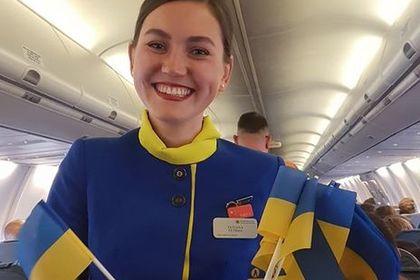 Исполнение гимна Украины в самолете сочли «невообразимым идиотизмом»