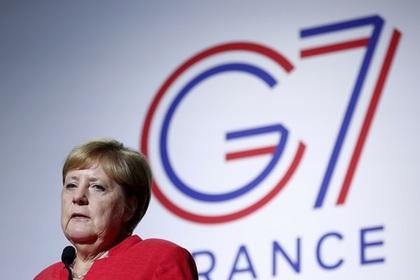 Меркель рассказала об условии для возвращения России к G7