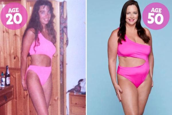 Женщины снялись в своих купальниках 30-летней давности и поделились ощущениями