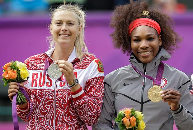 Олимпийские игры-2012, Лондон. Мария Шарапова и Серена Уильямс