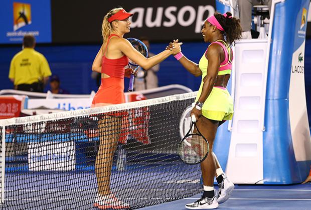 Australian Open-2015, финал. Мария Шарапова и Серена Уильямс