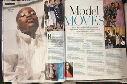 Журнал перепутал двух чернокожих моделей и опозорился
