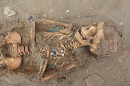 Найдена могила сотен принесенных в жертву детей