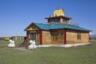 Хурээ (буддийский храм) Сунрап-Гьяцолинг в селе Эрзин недалеко от границы с Монголией.