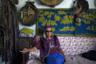 Шаман Дугар-Сюрюн (Николай) Ооржак в своем офисе в Кызыле. Получив образование театрального художника, он с 1975 по 1990 год был художественным руководителем Тувинского музыкально-драматического театра. После принятия в 1990 году закона о свободе совести и религиозных организациях основал первое в Туве общество шаманов.  <br><br> «Шаманизм можно понять, только если самому стать шаманом», — говорит Дугар-Сюрюн Ооржак. «Шаманизм— это не религия, а основа всех религий. Бог есть энергия Вселенной, все остальное — Будда, Христос — просто образы».