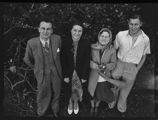 Групповое фото. Англия, 1939 год