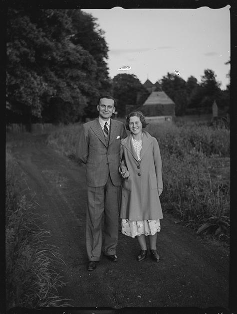 Портрет супружеской пары. Англия, 1939 год