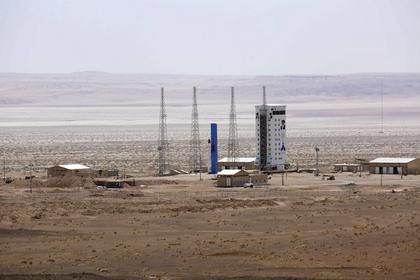 ВИране настартовой площадке космодрома взорвалась ракета
