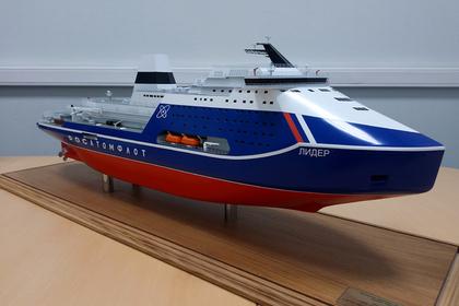 На строительство ледокола «Лидер» выделят 17 миллиардов рублей