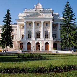 Имении князей Барятинских в Курской области