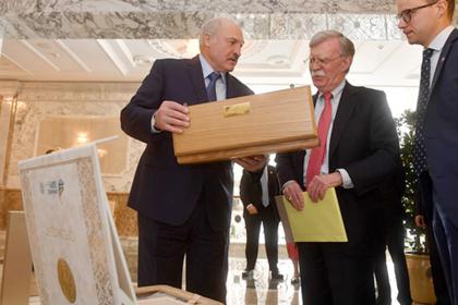 Александр Лукашенко и Джон Болтон