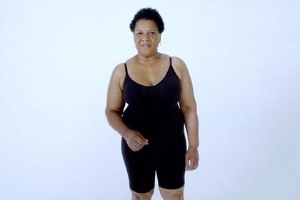 Ким Кардашьян вытащила из тюрьмы пенсионерку и сняла ее в рекламе нижнего белья