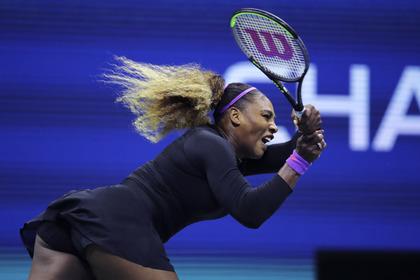 Российская теннисистка захотела «подложить памперс» в матче с Сереной Уильямс