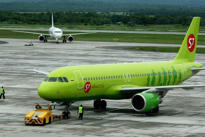 Самолет А-320 авиакомпании «Сибирь»