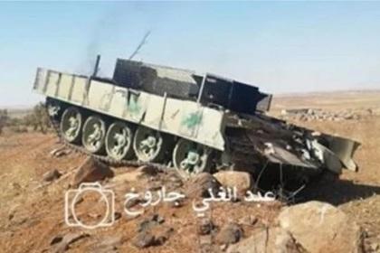 Найден «шахид-танк» Т-55